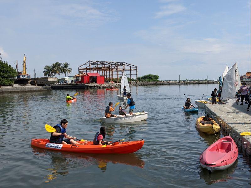 遊汕玩水-風帆體驗  圖片來源:高市府海洋局